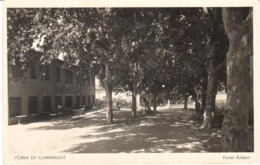 POSTAL    POBLA DE CLARAMUNT  .BARCELONA  - HOTEL ROBERT - Vari