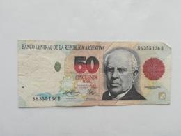 ARGENTINA 50 PESOS CONVERTIBLES - Argentinien