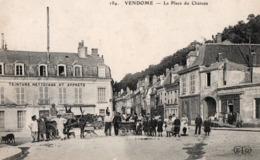 41 - VENDOME - 184 - La Place Du Château - Vendome