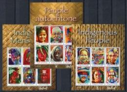 RC 14228 NATIONS UNIES 2010 PEUPLES AUTOCHTONES BLOCS FEUILLETS COTE 39,60€ NEUFS ** - UNO