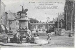 MEURTHE ET MOSELLE-NANCY-Place Saint Epvre Statue De René II....MI - Nancy
