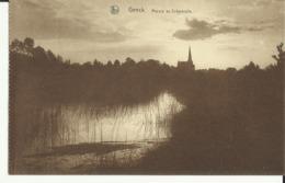 Genck -- Marais Au Crépuscule.   (2 Scans) - Genk