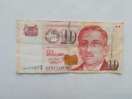SINGAPORE 10 DOLLARS 1999 - Singapur