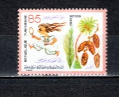 TUNISIE  N° 903   NEUF SANS CHARNIERE  COTE  1.70€   FLEUR - Tunesië (1956-...)