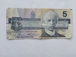 CANADA 5 DOLLARS 1986 - Kanada