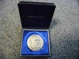 MEDAILLE DE GAULLE ARGENT (Minerve En Poinçon) Dans Un Mini Coffret Monnaie De PARIS - 11 Grammes - Frankrijk