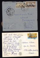 EGYPTE  Enveloppe PA 1968 Et CP Musée Du Caire - Luchtpost