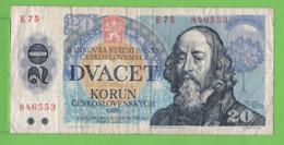 20 / KORUN / 1988 - Czechoslovakia