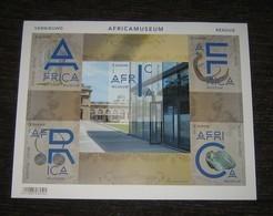 Belgie 2018 Het AfricaMuseum Is Vernieuwd! Ongetand Blaadje / Musée De L'Afrique Centrale Non-Dentelée - Non Dentelés