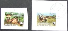 Guine-Bissau - Fine Postally Used Over Fragment WWF Fauna - Guinea-Bissau