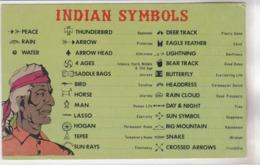 SYMBOLS Of The Southwest Indians - Etats-Unis