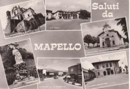 MAPELLO - VEDUTINE MULTIVUES - NON VIAGGIATA - Other Cities