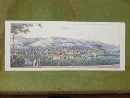 Reproduction Gravure - Vue Générale De Villes - STUTTGARDT D'après Heideloff, Richter, 1820 - Estampes & Gravures