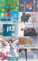 25 Télécartes ARGENTINE Différentes - Argentina