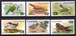 PHILIPPINES - 1979 BIRDS SET (6V) FINE MNH ** SG 1504-1509 - Paraguay