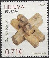 W219 Litauen-Lithuania-Latvija 1 Stamp Used-oblit. - Europa-CEPT