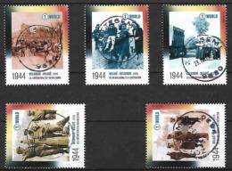 2019 WWO II Guerre Oorlog War Militair  Liberation Bevrijding D-Day  V-Day Centrale Stempel !! - Belgique