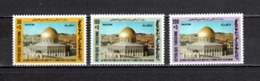 TUNISIE  N° 950 à 952    NEUFS SANS CHARNIERE  COTE  4.00€   MOSQUEE MONUMENT - Tunesië (1956-...)