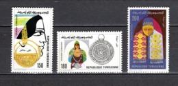 TUNISIE  N° 953 à 955    NEUFS SANS CHARNIERE  COTE  3.50€   BIJOUX - Tunesië (1956-...)