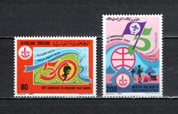 TUNISIE  N° 964 + 965    NEUFS SANS CHARNIERE  COTE  2.00€   SCOUTISME - Tunesië (1956-...)