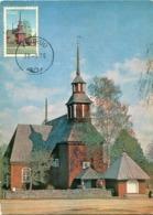 48418 Finland, Maximum 1970  Keuruu  The Old Church, Architecture, - Maximum Cards & Covers
