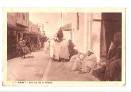 Rabat - Une Rue De La Medina - Rabat
