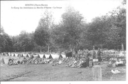 HORTES - Le Camp Des Américians Au Moulin D'Hortes - La Soupe - Autres Communes