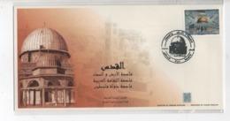 Commemorative Cover For Al Quids Stamp 2019 Lebanon Liban Libanon Palestine - Lebanon