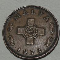 1972 - Malte - Malta - 1 CENT - KM 8 - Malte