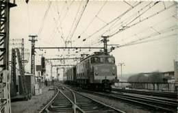 231019B - PHOTO D BREHERET Chemin De Fer Gare Train - Années 1950 Locomotive 2D2-5547 SNCF - Stations - Met Treinen