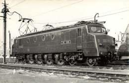 231019B - PHOTO C SCHNABEL Chemin De Fer Gare Train - 1955 IVRY Le Dépôt Loco 2D2-5305 SNCF - Ivry Sur Seine
