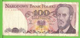 100 ZLOTY / 1986 - Polonia