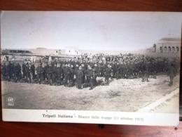 SBARCO DELLE TRUPPE A TRIPOLI, 11 Ottobre 1911 - GUERRA ITALO TURCA - Altre Guerre