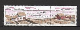 Saint -Pierre Et Miquelon Yvert N°1014-1015 Neuf Triptyque L'anse à Bertrand Lot 19-189 - Ungebraucht