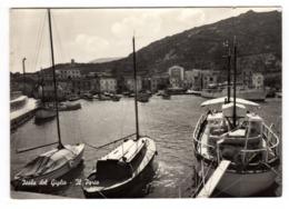 CPSM Vera Fotografia Isola Del Giglio Livorno Toscana Italie Italia Il Porto éditeur Fototipia Berretta Terni - Livorno
