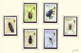 FALKLAND ISLAND DEPENDENCIES - 1982 Insects Set Unmounted/Never Hinged Mint - Gilbert- En Ellice-eilanden (...-1979)