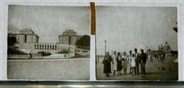 Plaque De Verre - 2 Vues - Italie - Paris à Venise 1938 - Animée - Glasdias