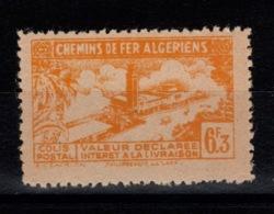 Algerie - Variete Colis Postaux N** Luxe YV 114 Sans La Surcharge - Paquetes Postales