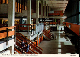 ! Moderne Ansichtskarte, Glasgow Airport Scotland, Flughafen, Aerodrome - Aeródromos