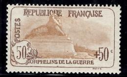 France Orphelins YT N° 153 Neuf *. Gomme D'origine. Beau Timbre Sans Défaut. A Saisir! - Nuovi