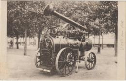 CPA  86  CHATELLERAULT  LOCOMOBILES CHAUFFAGE A LA SCIURE DE BOIS CARTE PHOTO PUBLICITAIRE J MASSARD - Chateau De Touffou
