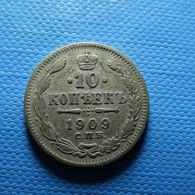 Russia 10 Kopeks 1909 Silver - Rusland