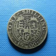 Great Britain 1 Shilling 1900 Silver - 1816-1901 : Muntslagen XIX° Eeuw