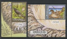 POLYNESIE 2019 N° 1205/1206 ** Neufs MNH  Superbes Faune Oiseaux Pétrel De Tahiti Monarque Birds Animaux - Nuevos