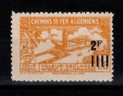 Algerie - Variete Colis Postaux N** Luxe YV 190 Sans La Surcharge - Paquetes Postales