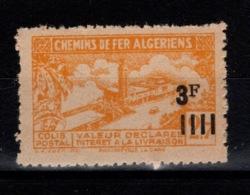 Algerie - Variete Colis Postaux N** Luxe YV 191 Sans La Surcharge - Paquetes Postales