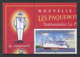 CALEDONIE 2019 N° 1365 ** Neuf MNH  Superbe Bateaux Paquebots De Légende  Le Polynésie Boats Ships Transports - Nueva Caledonia