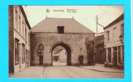 CPSM Herenthals / Herentals : Bovenpoort - Porte Haute - Circulée - 2 Scans - Herentals
