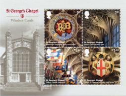 GREAT BRITAIN 2017 Windsor Castle: St. George's Chapel M/S - Blocks & Miniature Sheets
