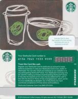UK STARBUKS - Paper Or Ceramic , CN : 6136, Unused - Gift Cards